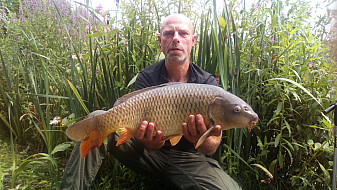 Jimmies pool Jason Rodgers with a nice Common carp