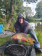 Brookbank pool George Chadwick with a nice Common carp