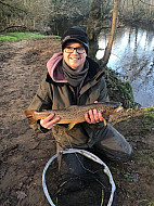 River Goyt Lee Atherton with a nice Brownie